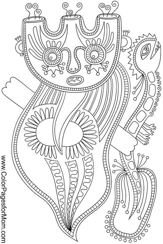 Surreal City! coloring #12, Download drawings