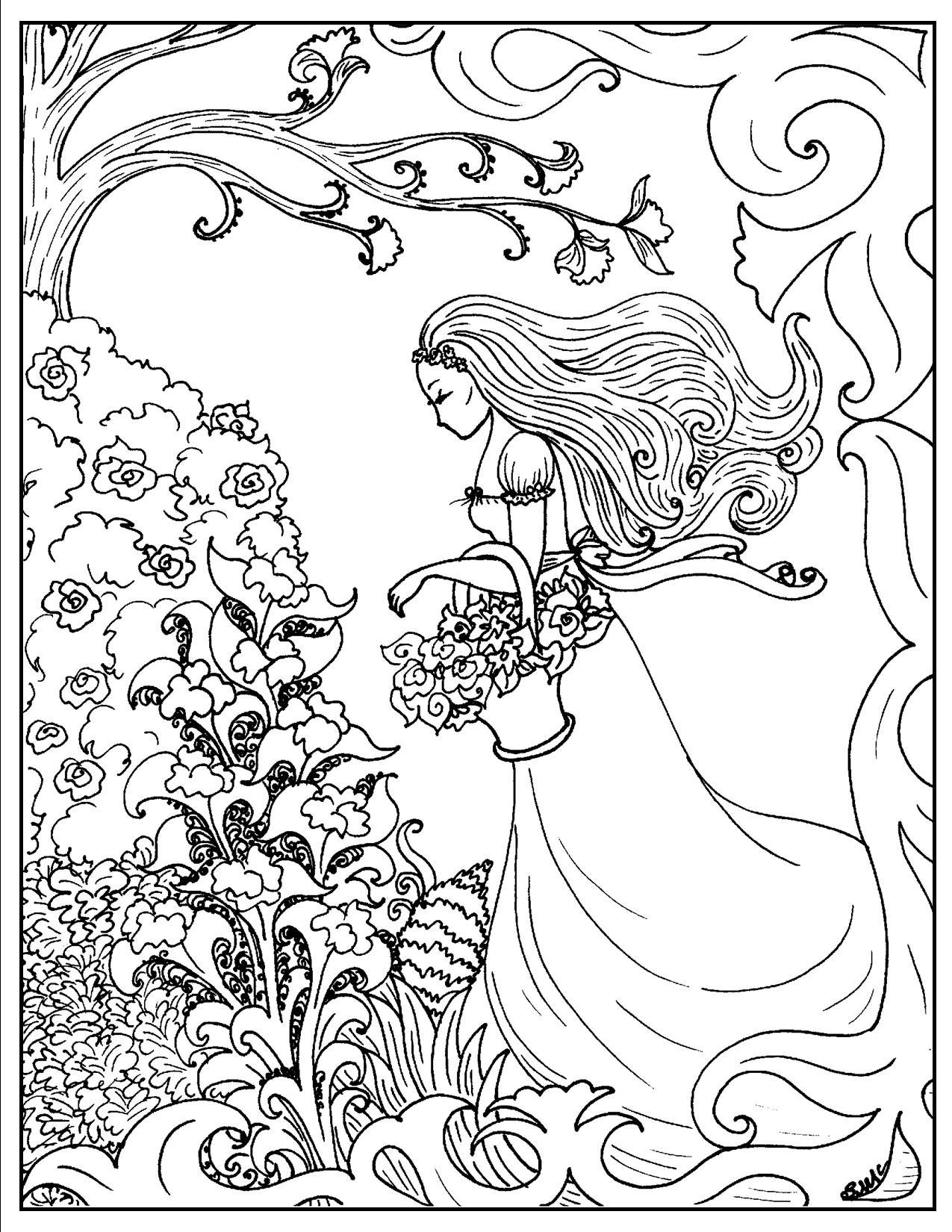Surrealism coloring #8, Download drawings