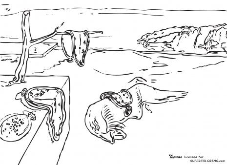 Surrealism coloring #19, Download drawings