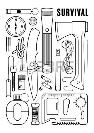 Survival clipart #6, Download drawings