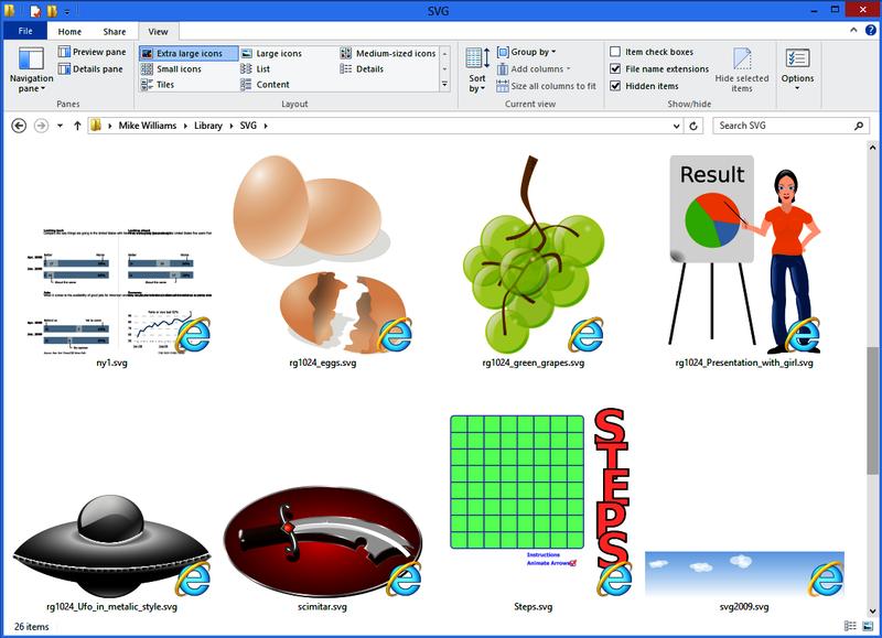 svg explorer extension #788, Download drawings