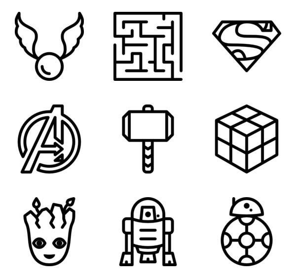 svg geeks #1140, Download drawings