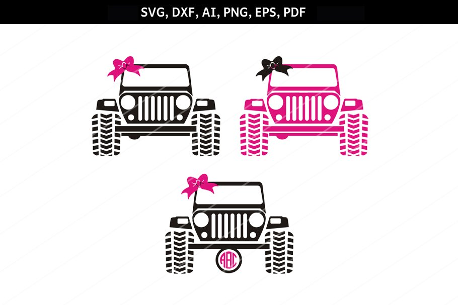 svg jeep #477, Download drawings