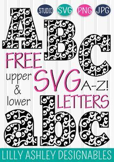 svg letters #995, Download drawings