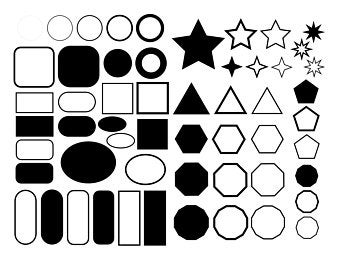 svg shapes #1162, Download drawings