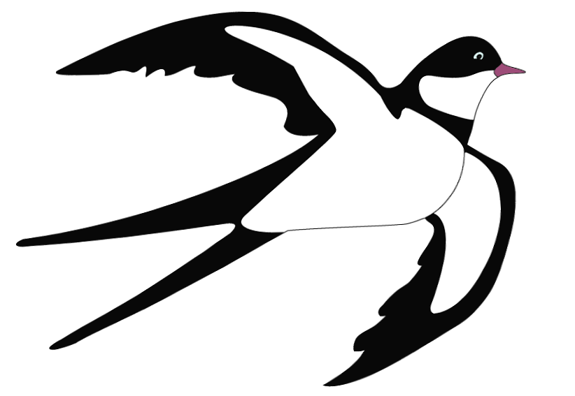 Swallow clipart #4, Download drawings
