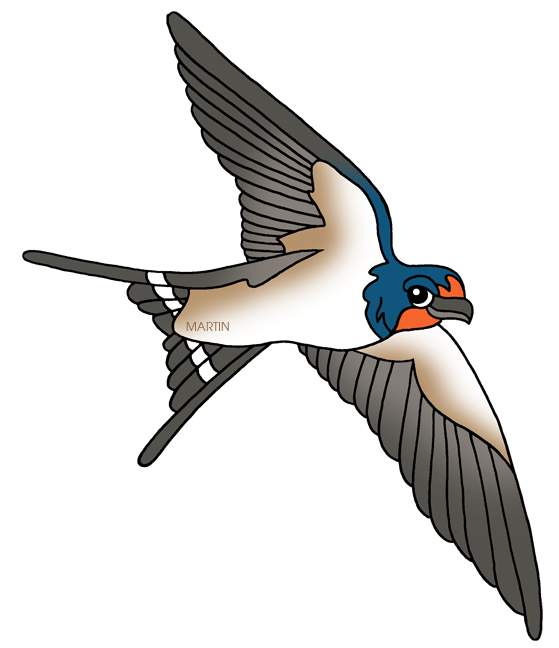 Swallow clipart #5, Download drawings