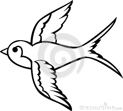 Swallow clipart #6, Download drawings