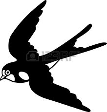 Swallow clipart #1, Download drawings