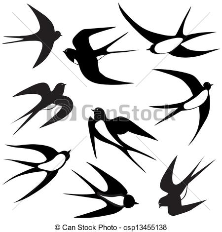 Swallow clipart #12, Download drawings