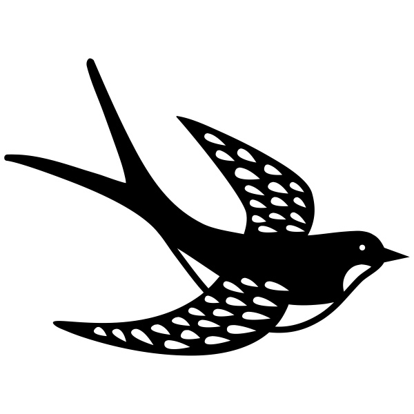 Swallow svg #20, Download drawings
