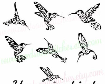Swallow-tailed Hummingbird svg #16, Download drawings