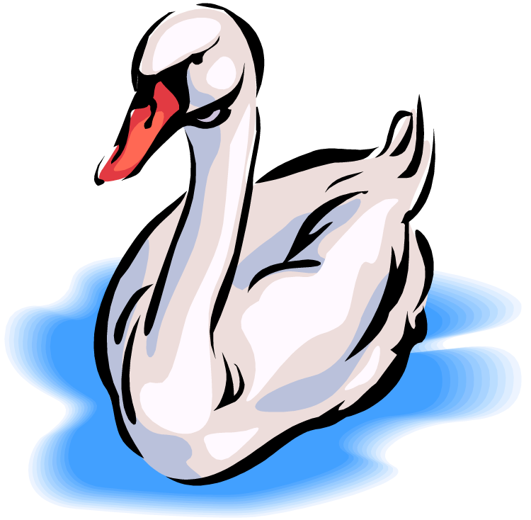 Swan clipart #6, Download drawings