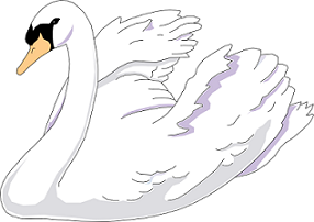 Swan clipart #7, Download drawings