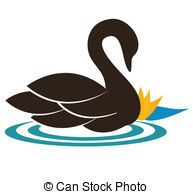 Swan clipart #12, Download drawings