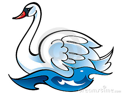 Swan clipart #18, Download drawings