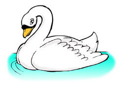 Swan clipart #14, Download drawings