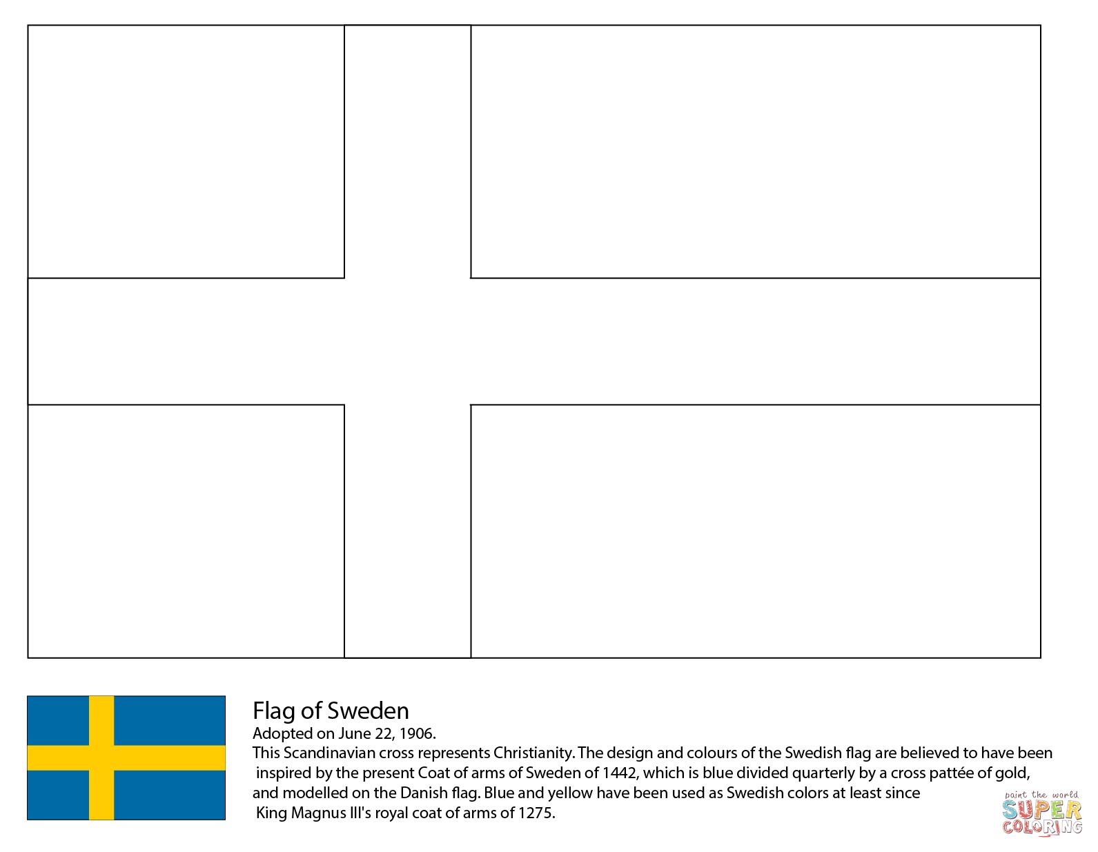 Scandinavia Coloring Download Scandinavia Coloring