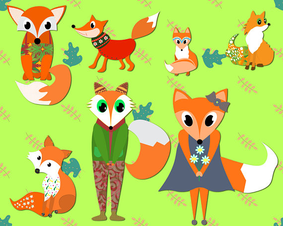 Swift Fox clipart #6, Download drawings