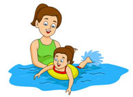 Swimming clipart #1, Download drawings