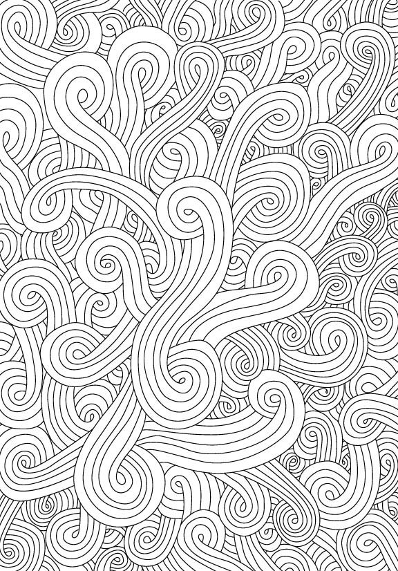 Swirl Coloring Download Swirl Coloring For Free 2019