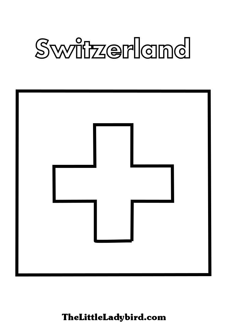 Schwitzerland coloring #4, Download drawings