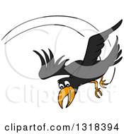 Swooping clipart #2, Download drawings