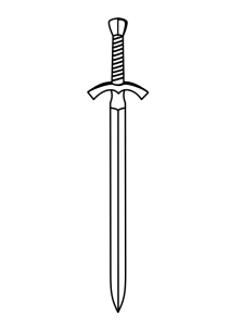 Sword clipart #8, Download drawings
