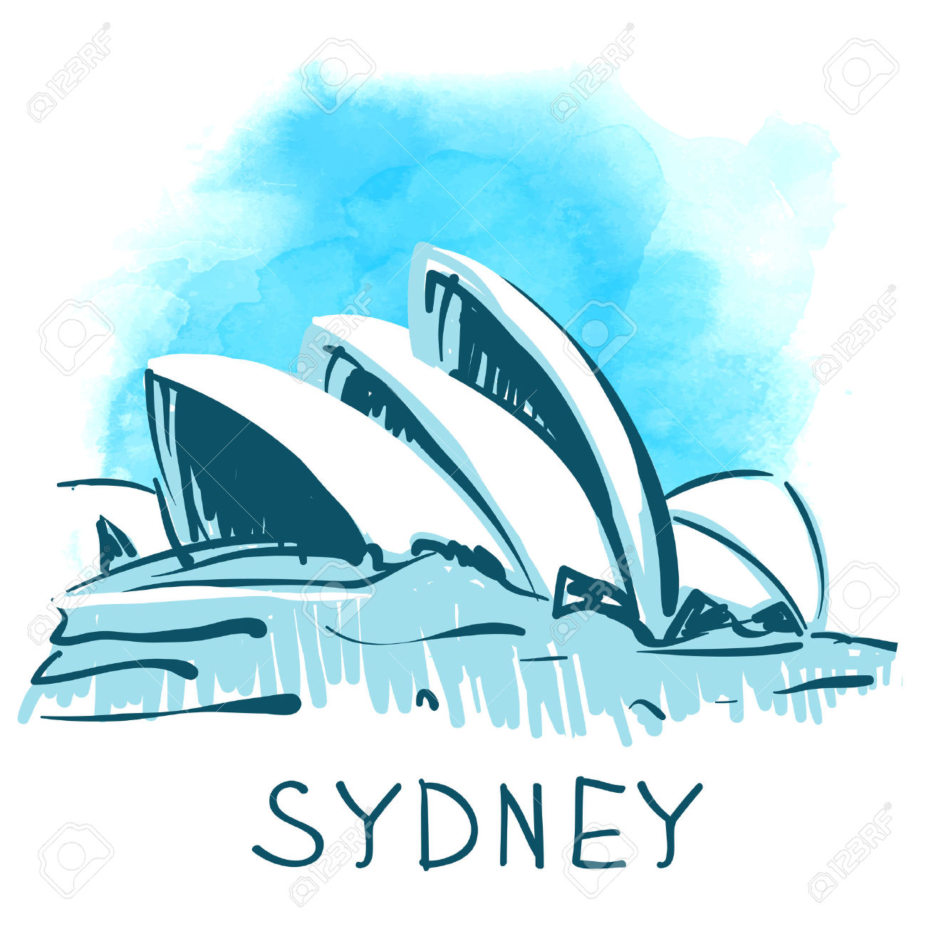 Sydney clipart #1, Download drawings