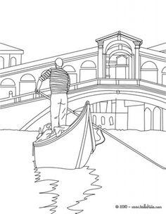 Venice coloring #17, Download drawings