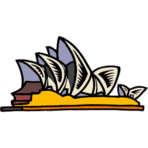 Sydney Opera House clipart #4, Download drawings