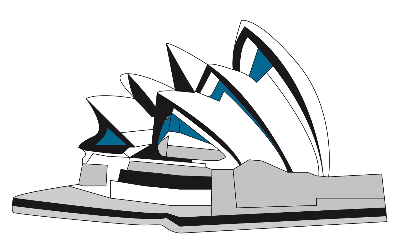 Sydney Opera House clipart #16, Download drawings