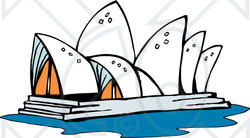 Sydney Opera House clipart #2, Download drawings