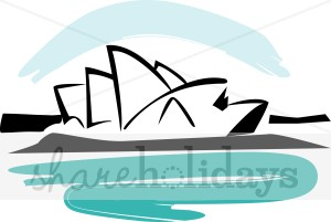 Sydney Opera House clipart #7, Download drawings