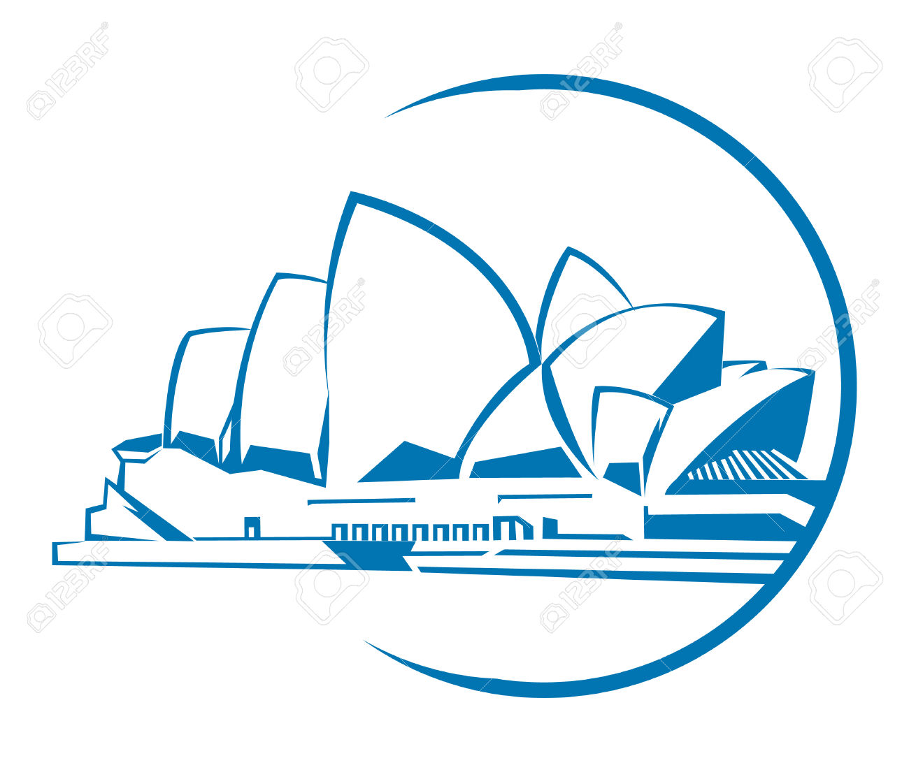 Sydney Opera House clipart #6, Download drawings