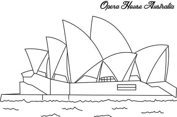 Sydney Coloring Download Sydney Coloring