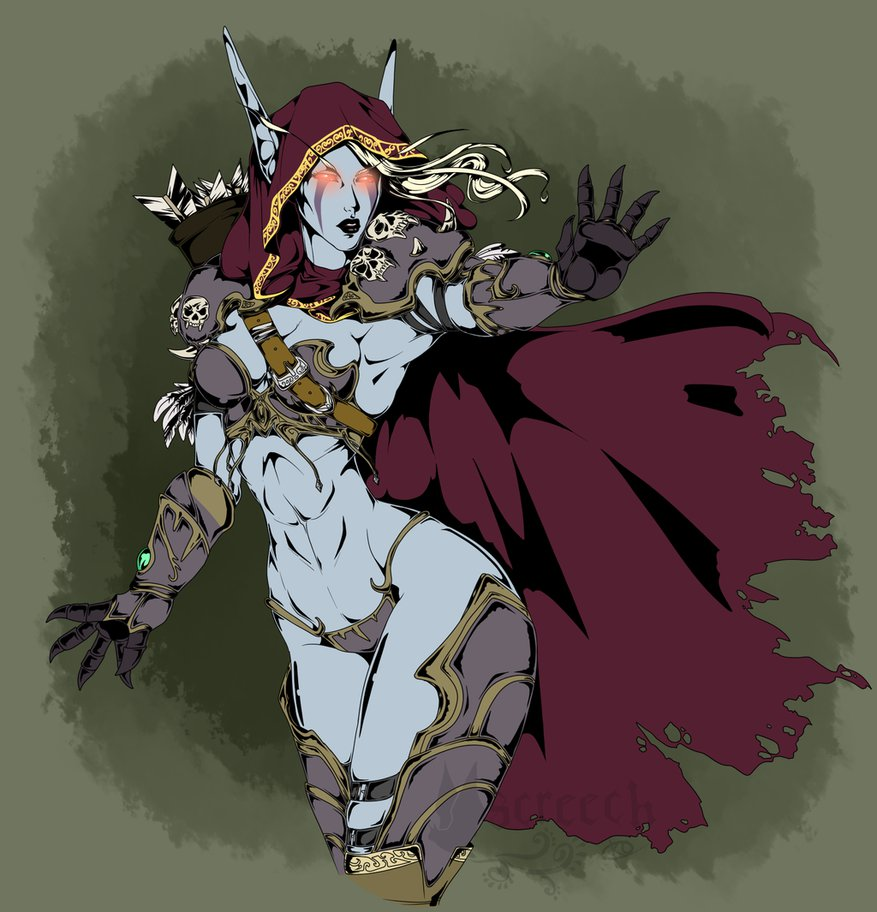Sylvanas Windrunner clipart #15, Download drawings