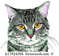Tabby Cat clipart #9, Download drawings