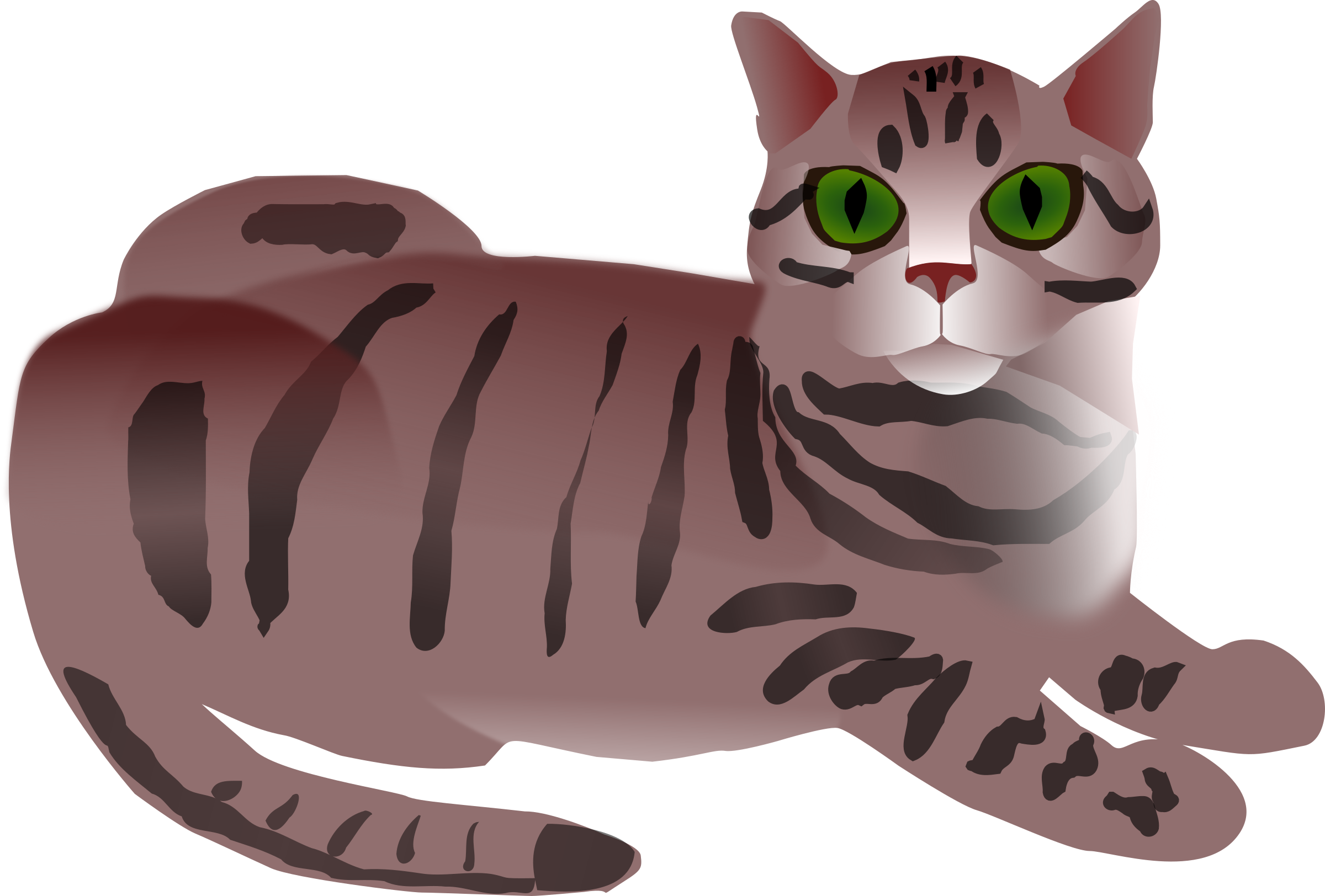 Tabby Cat clipart #15, Download drawings