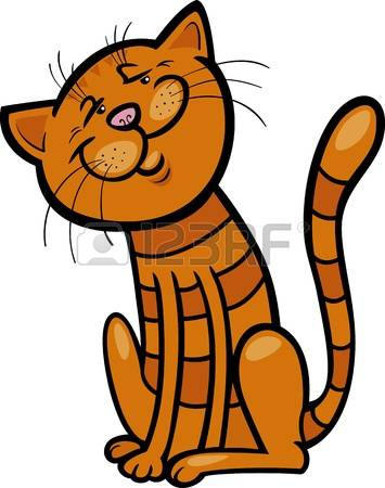 Tabby Cat clipart #3, Download drawings