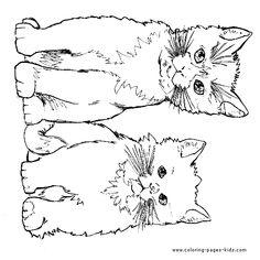 Tabby Cat coloring #1, Download drawings