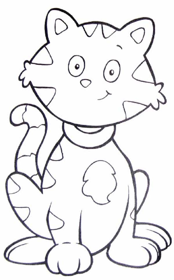 Tabby Cat coloring, Download Tabby Cat coloring for free 2019