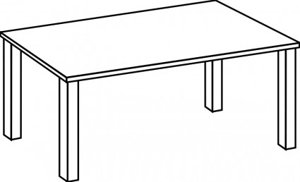 Table clipart #6, Download drawings