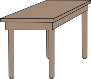 Table clipart #4, Download drawings