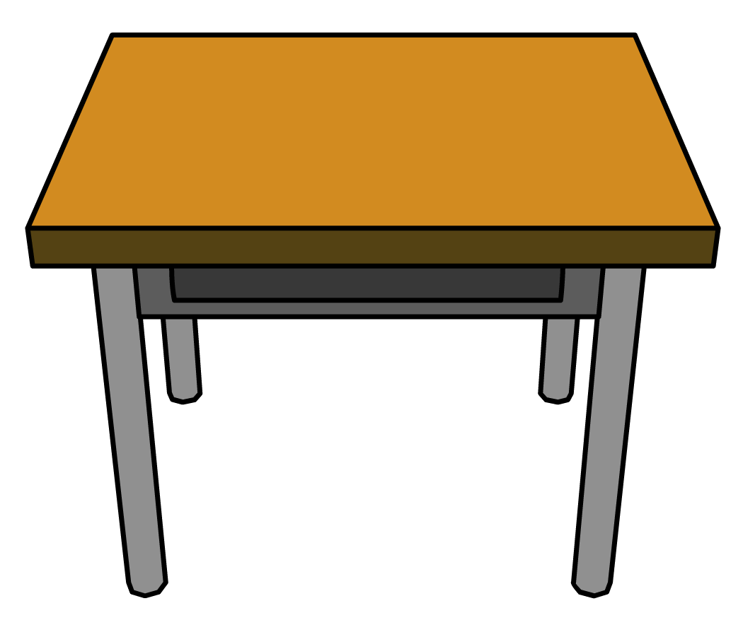 Table clipart #2, Download drawings