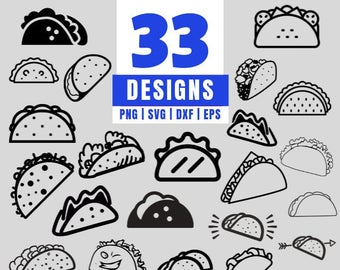 taco svg #930, Download drawings