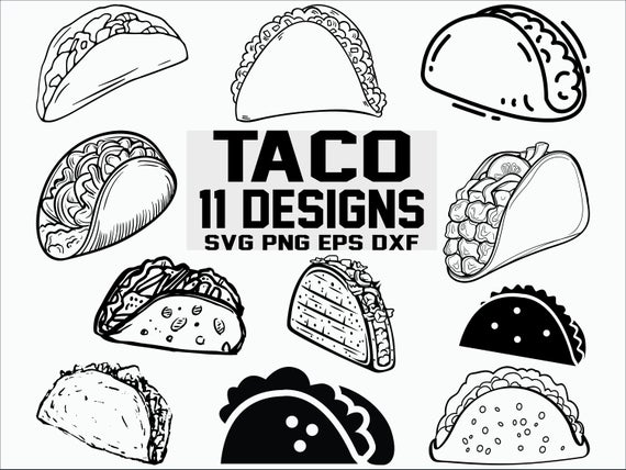 taco svg #927, Download drawings