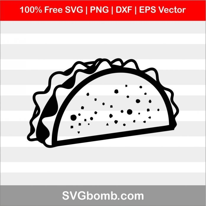 taco svg #924, Download drawings