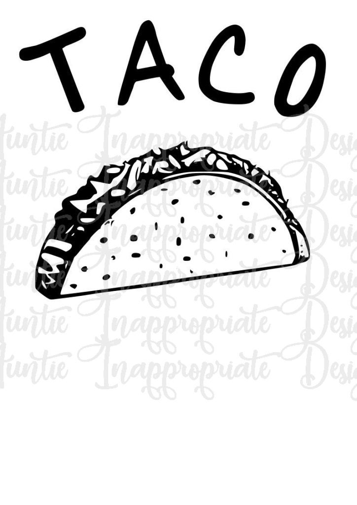taco svg #926, Download drawings