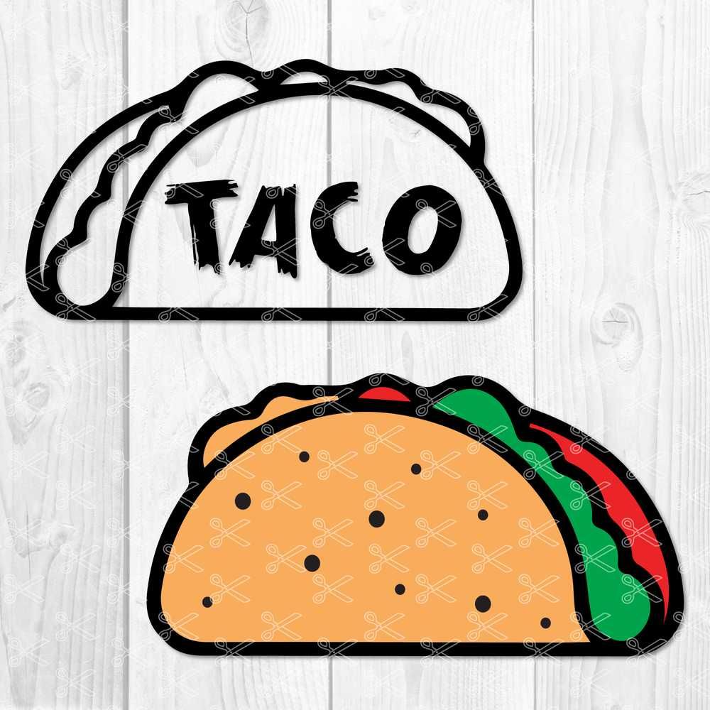 taco svg #923, Download drawings